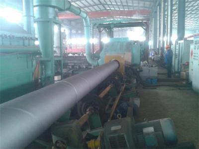 环氧树脂防腐螺旋钢管设备